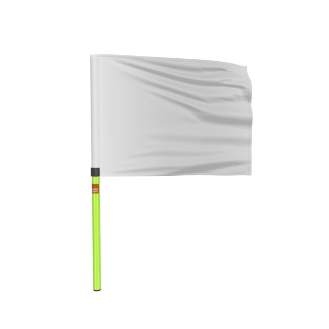 Køb Nordic Sport Dommerflag Hvid