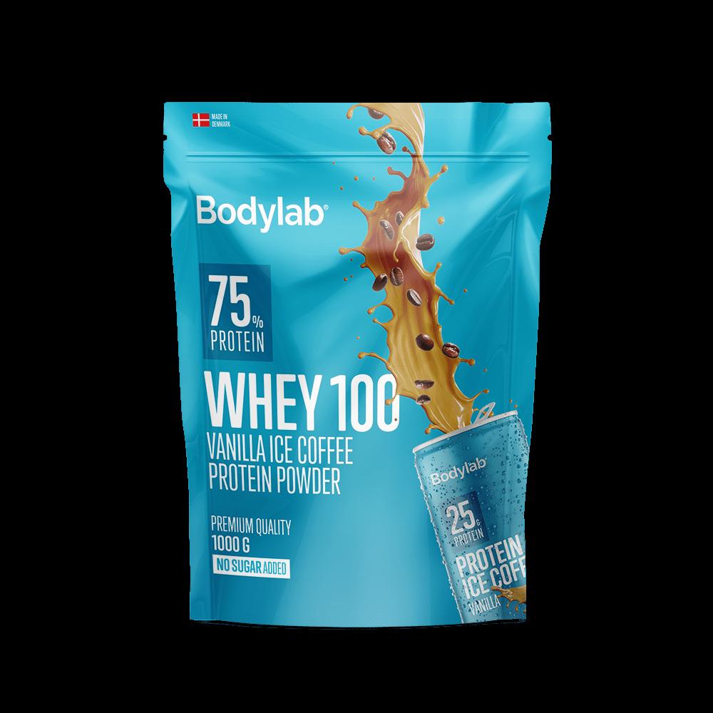 Billede af BodyLab Whey 100 Proteinpulver Vanilla Ice Coffee (1kg)