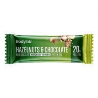 Køb BodyLab Proteinbar Hasselnød & Chocolade (1 x 55 g)