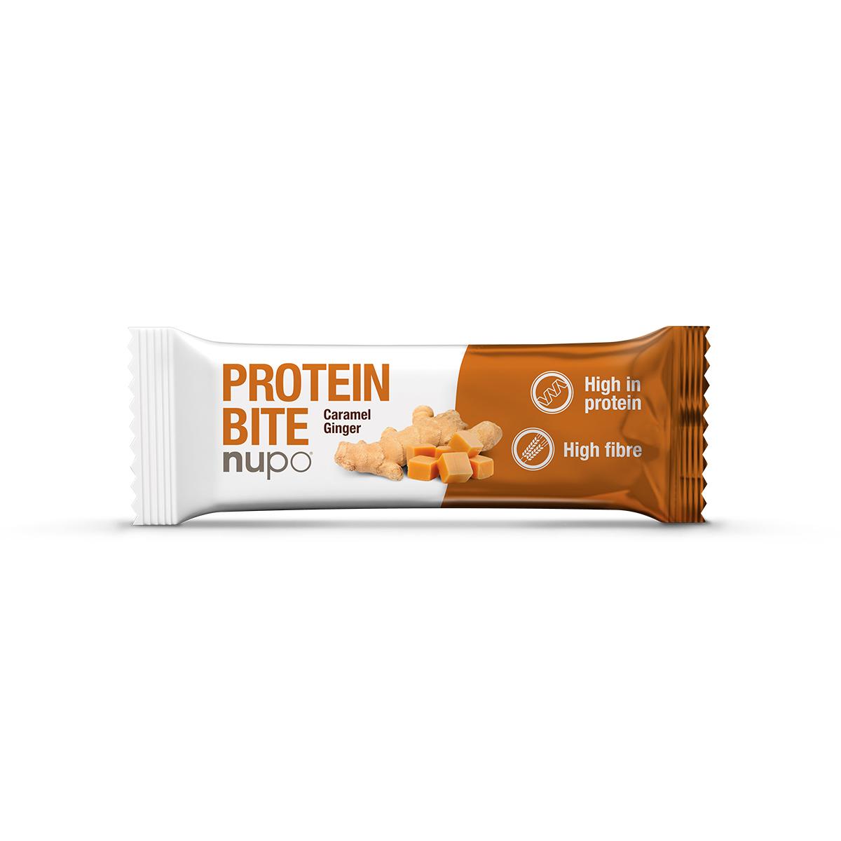 Nupo Protein Bite Caramel Ginger (1 stk.)