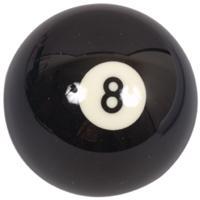 Køb Søren Søgaard Billard / Pool Ball 57,2 mm Nr. 8 Sort