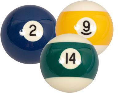 Køb Søren Søgaard Billard / Pool Ball 57,2 mm Nr. 9