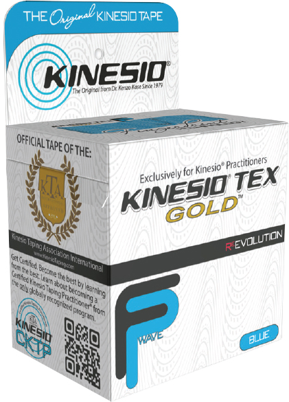 Kinesio Tex Gold FP Blå (5cm x 5m) - Træningsudstyr