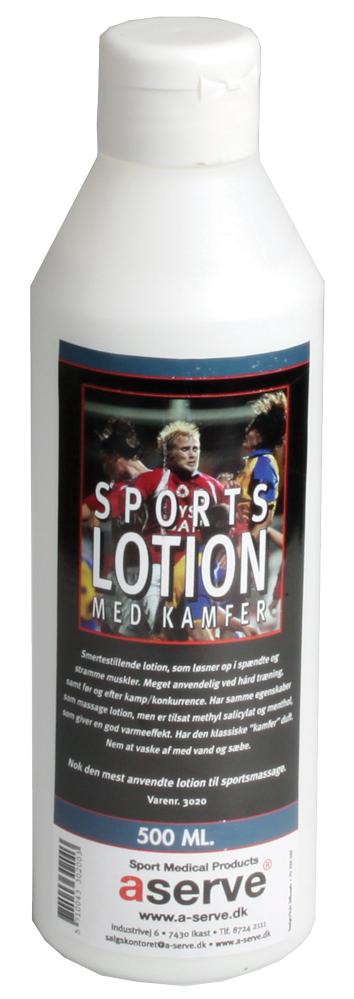Aserve Sportslotion Med Kamfer (500ml)