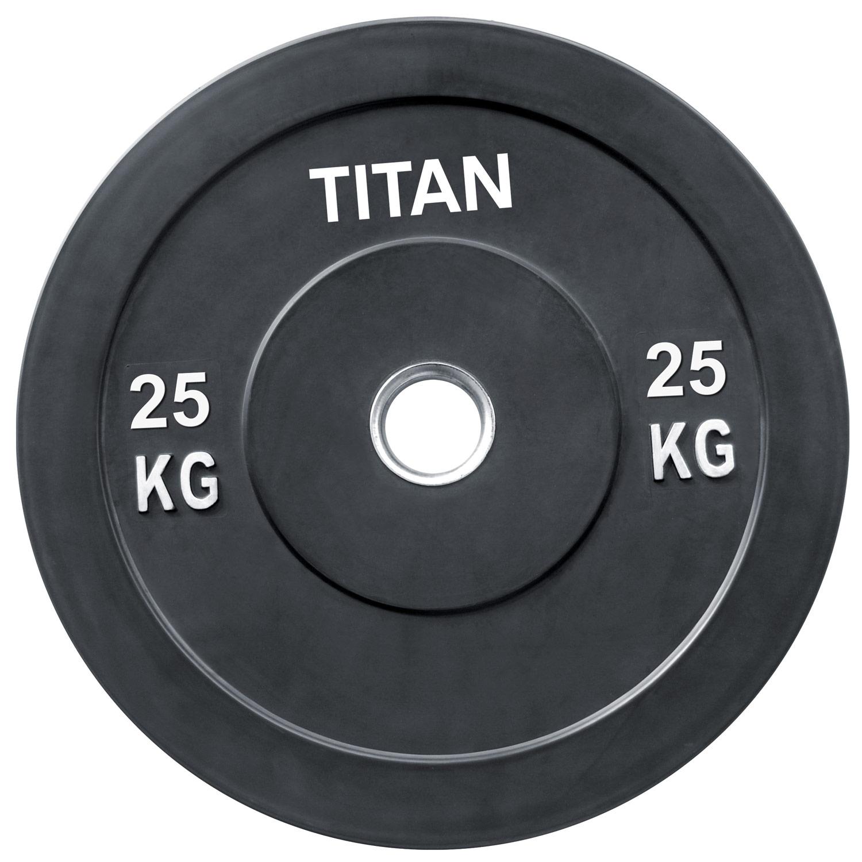 Titan BOX Crossfit Bumper Plate 25kg