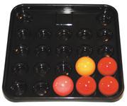 Image of Bakke Til Snookerballer (22 stk) (5267)