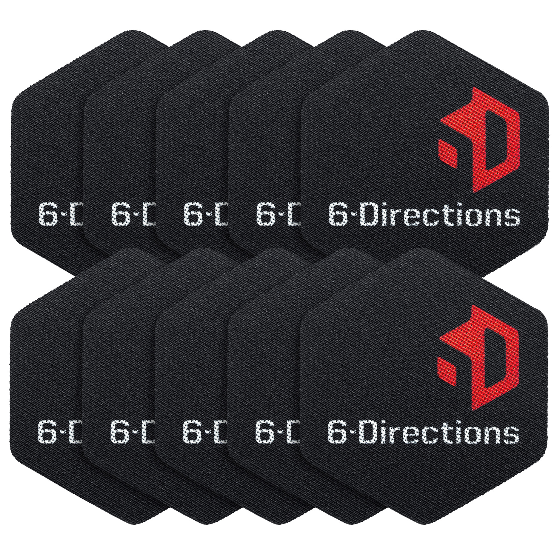 6-Directions 6D Sliding (10stk) - 6-Directions