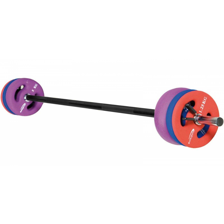 Eurosport Bar Pump Rep Set m. Clips (17,5kg)