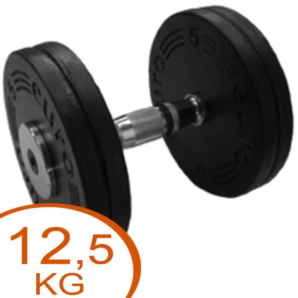 Eurosport Faste Black Metal Håndvægte 12,5kg (1 stk.)