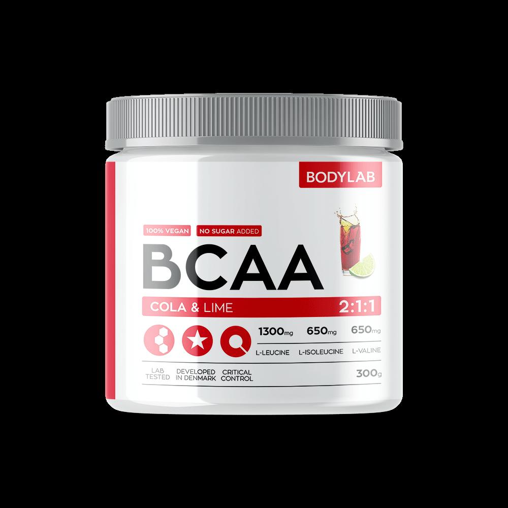 Køb BodyLab BCAA Instant Cola / Lime (300g)