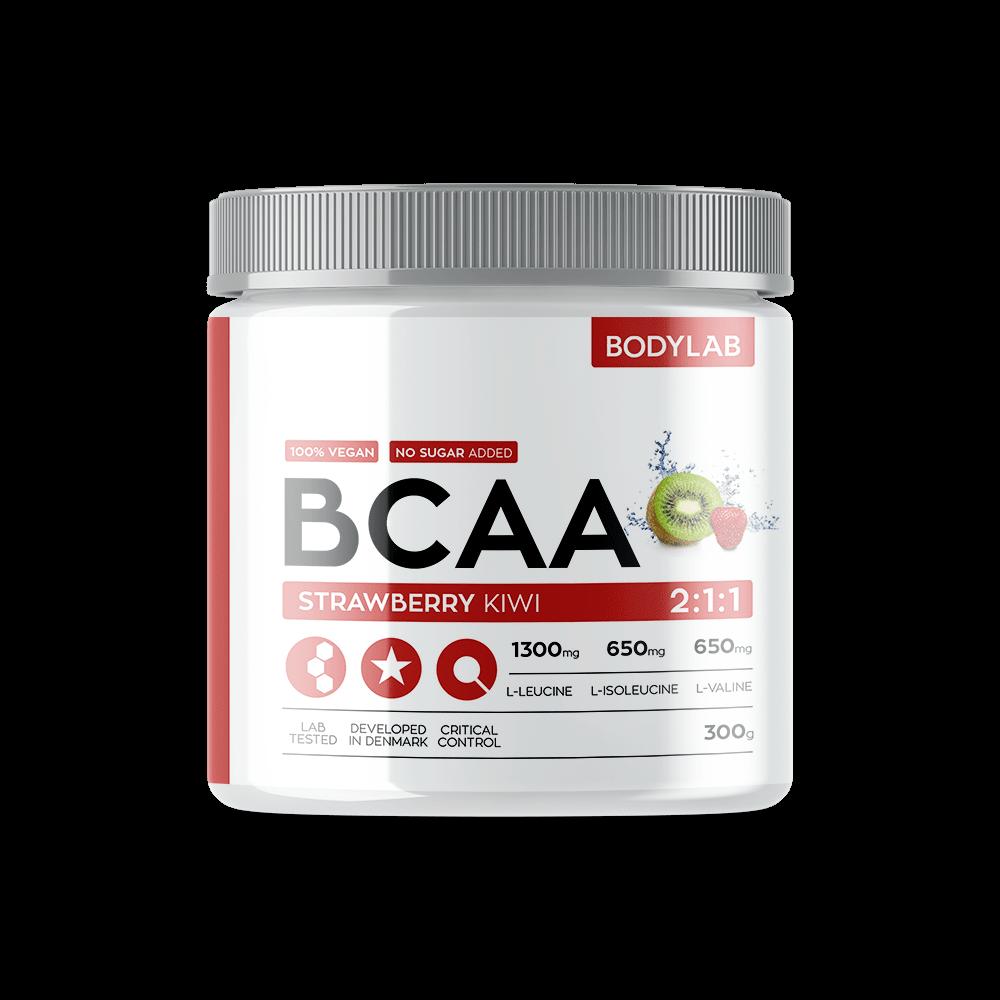 Køb BodyLab BCAA Instant Strawberry Kiwi (300g)
