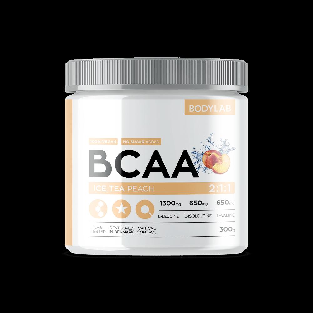 Køb BodyLab BCAA Instant Ice Tea Peach (300g)