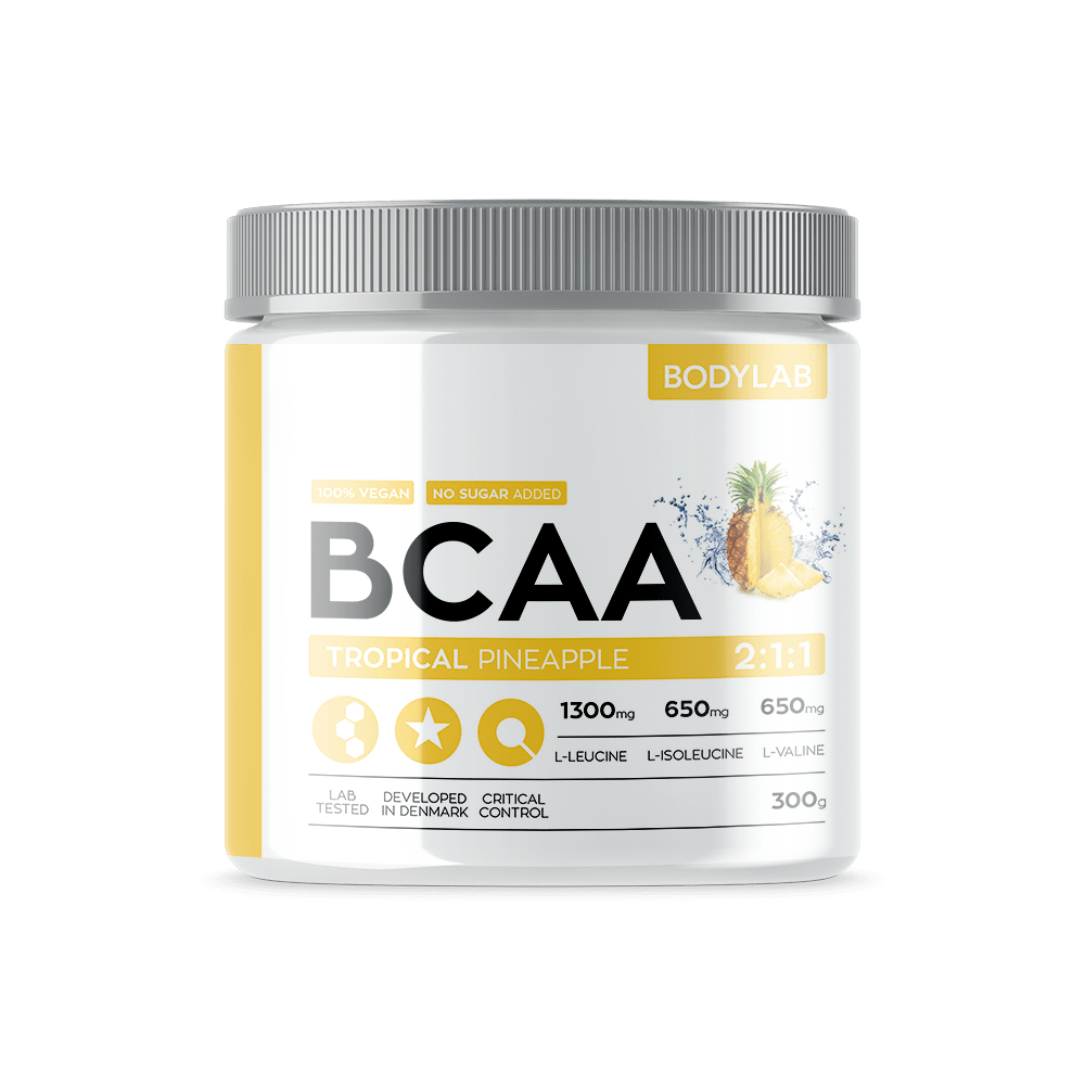 Køb BodyLab BCAA Instant Tropical Pineapple (300g)