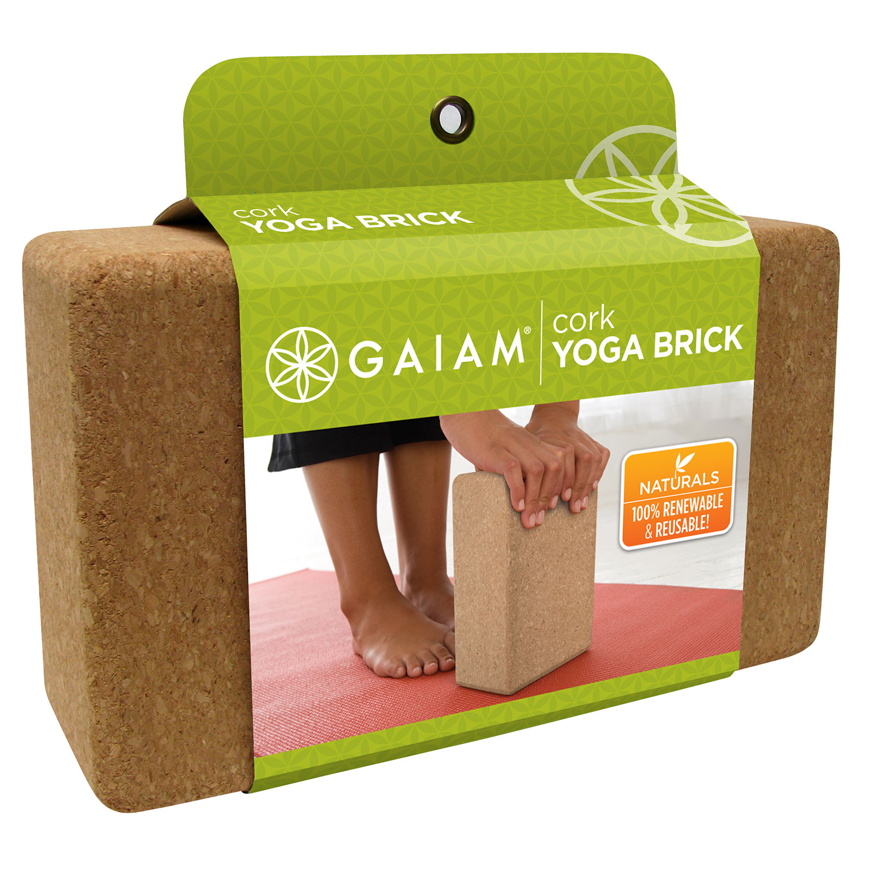 Gaiam Kork Yogablok