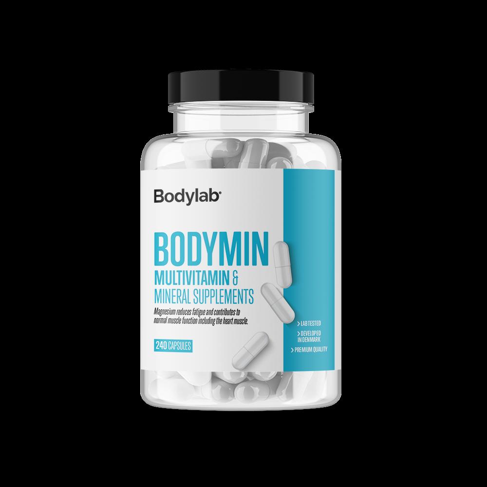 Køb BodyLab Bodymin Vitamin- & Mineraltilskud (240 piller)