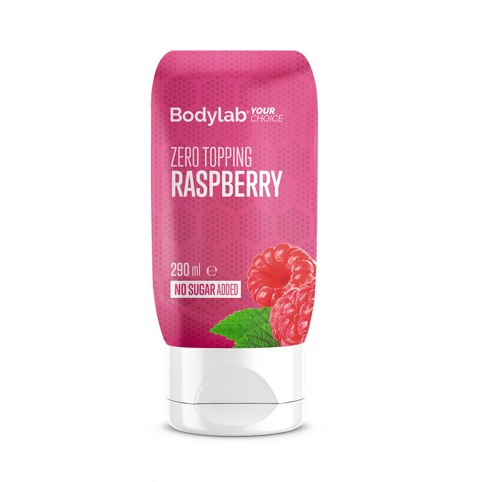 Køb BodyLab Zero Topping Raspberry (290ml)