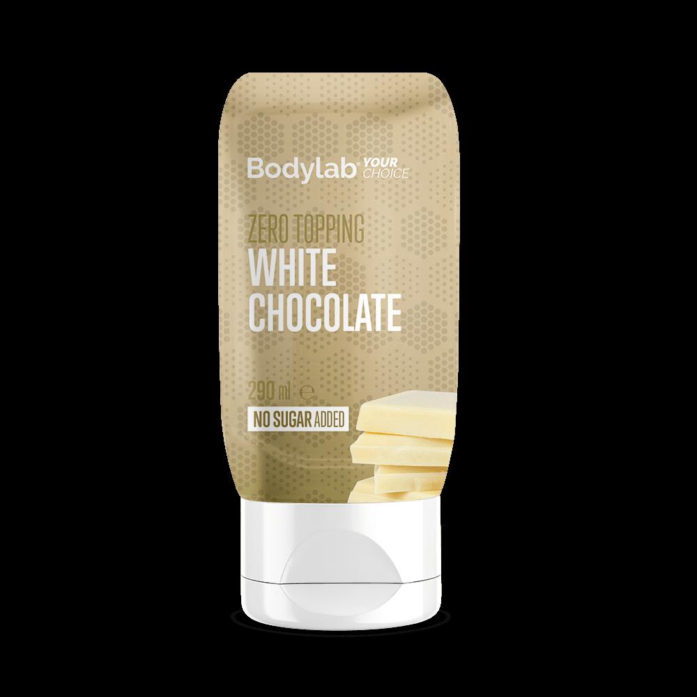 Køb BodyLab Zero Topping White Chocolate (290ml)