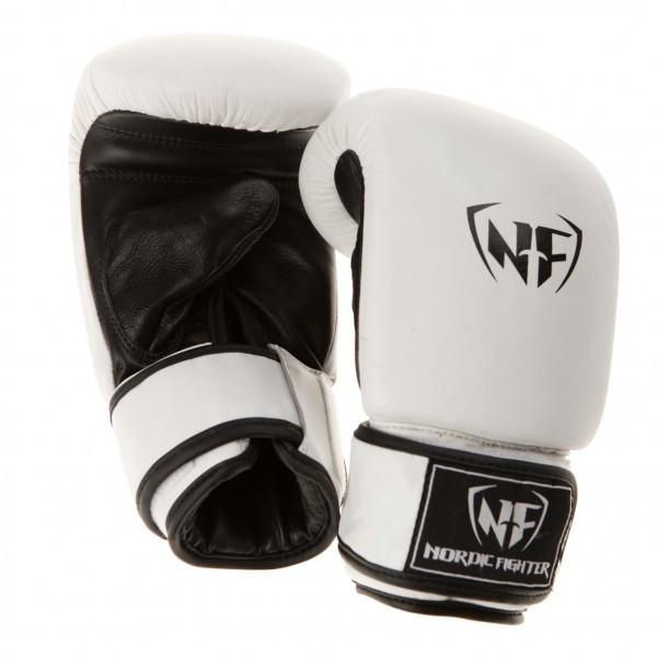 Billede af Nordic Fighter Bag Gloves Sandsækhandsker Hvid Læder Medium