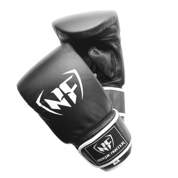 Billede af Nordic Fighter Bag Gloves Sandsækhandsker Sort Læder Medium