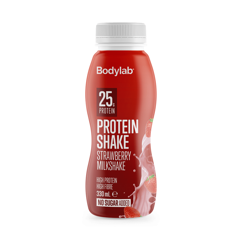 BodyLab Protein Shake - Strawberry Milkshake (1x330 ml)