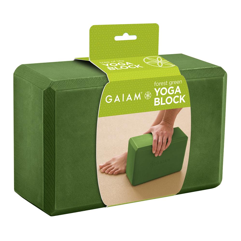 Køb Gaiam Yogablok Grøn