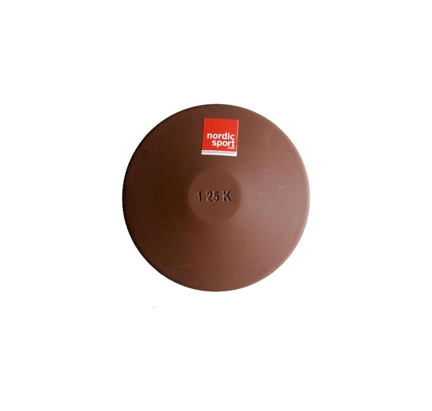 Køb Nordic Sport Diskos i Gummi 1,25kg