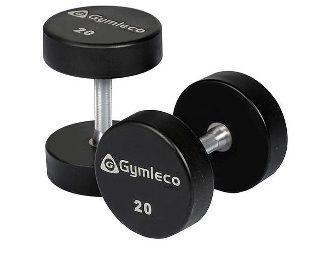 Gymleco 836 Runde Gummi Håndvægte 5 kg (1 stk)