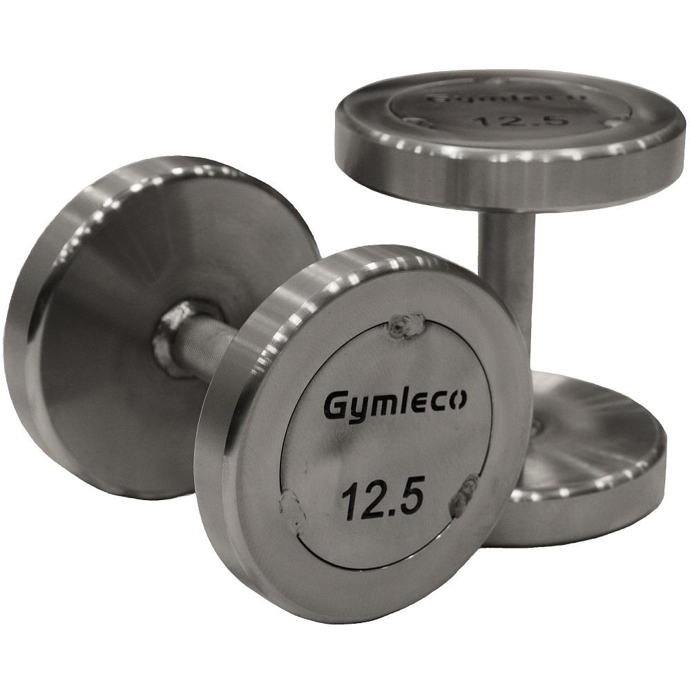 Køb Gymleco 838 Runde StÃ¥l HÃ¥ndvægte 80kg (1 stk)