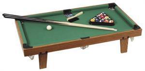 Mini Pool Sæt (Inkl. Poolbord, køer m.v.)