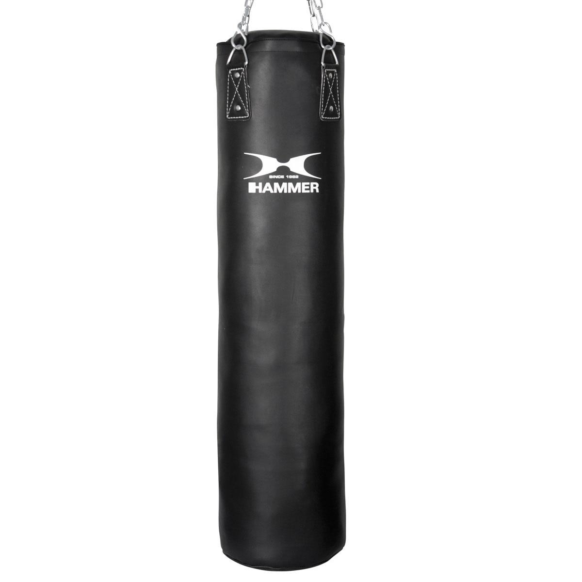 Billede af Hammer Premium Black kick Sandsække (120x35cm - 34kg)