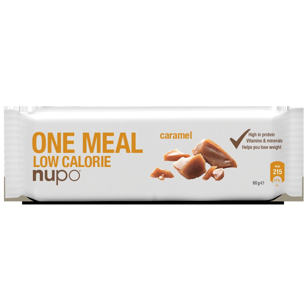 Nupo One Meal Bar - Caramel 1x60 g