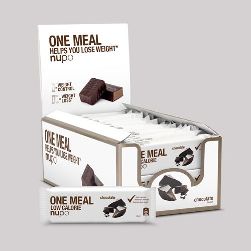Køb Nupo One Meal Bar – Chocolate 24×60 g