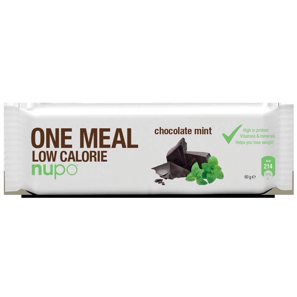 Nupo One Meal Bar - Chokolade Mint 1x60 g