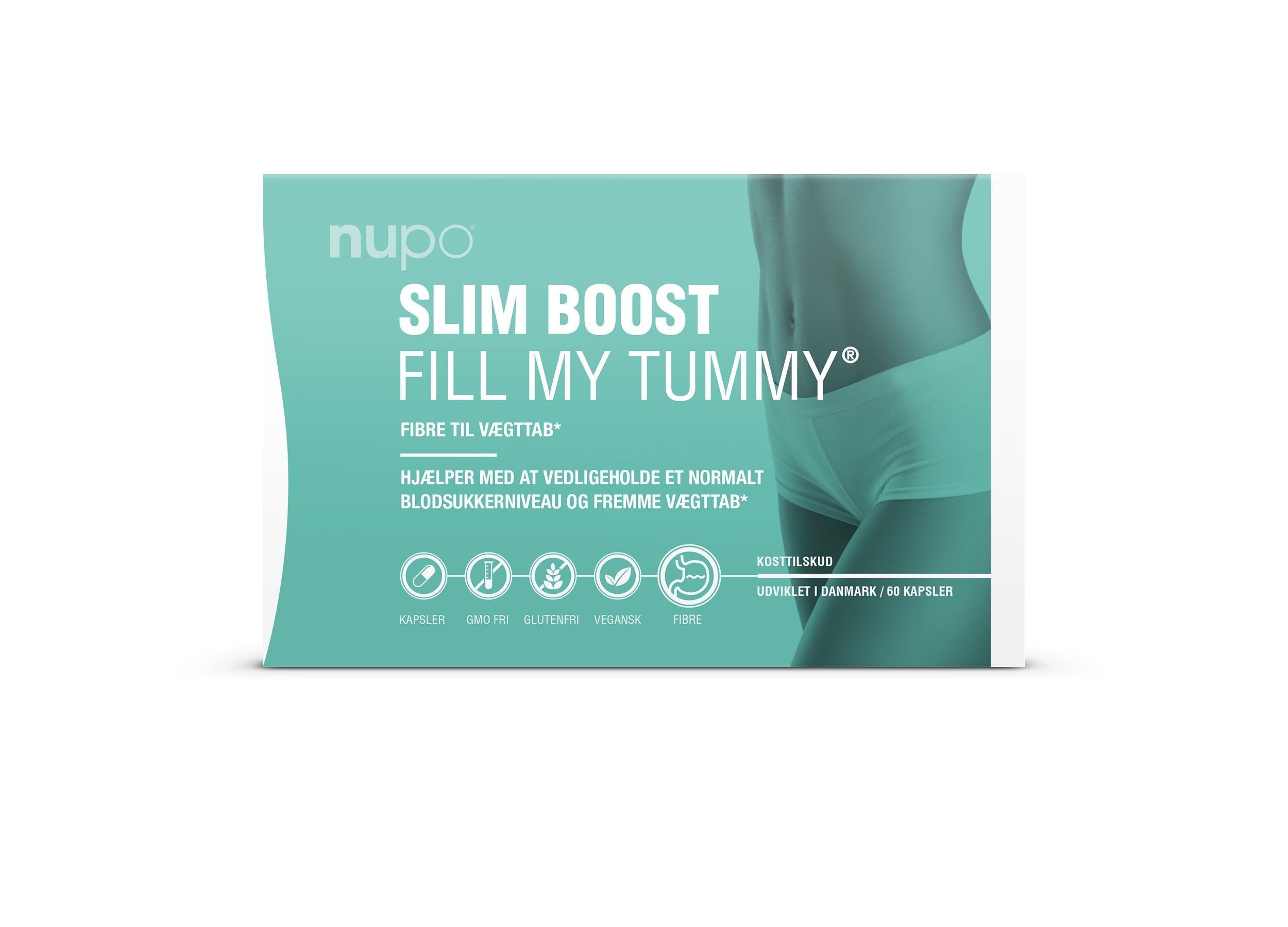 Nupo Slim Boost - Fill My Tummy 60 Caps