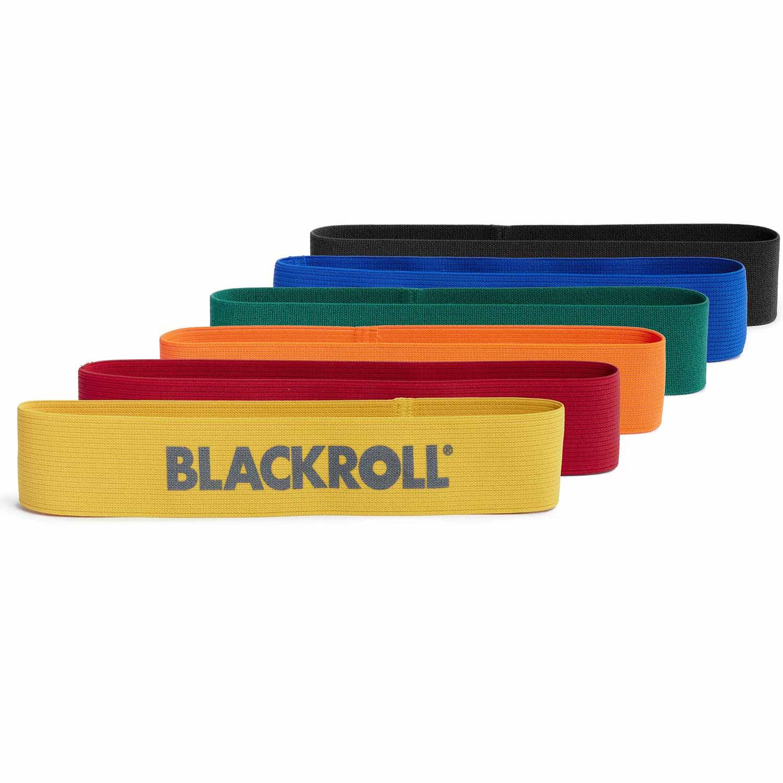 Blackroll Loop Band Træningselastik Sæt (6 stk)