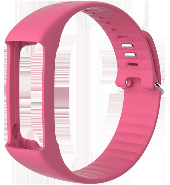 Polar A360 Wristband Pink Medium