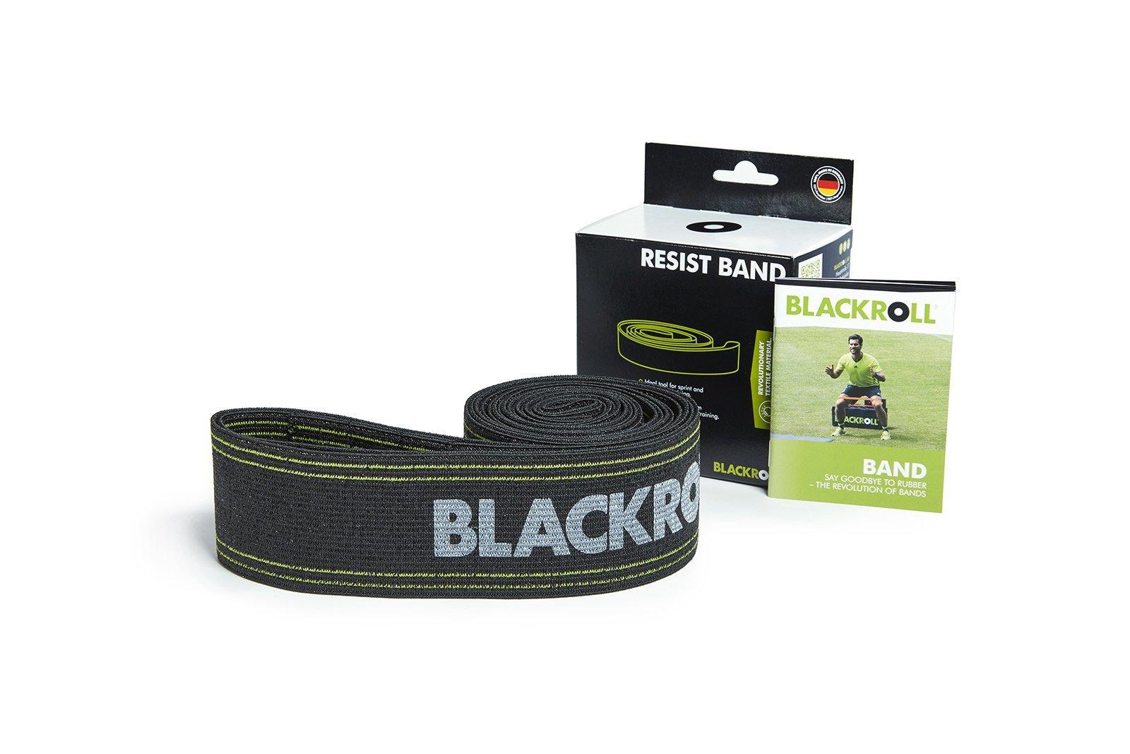 Blackroll Resist Band Sort Træningselastik