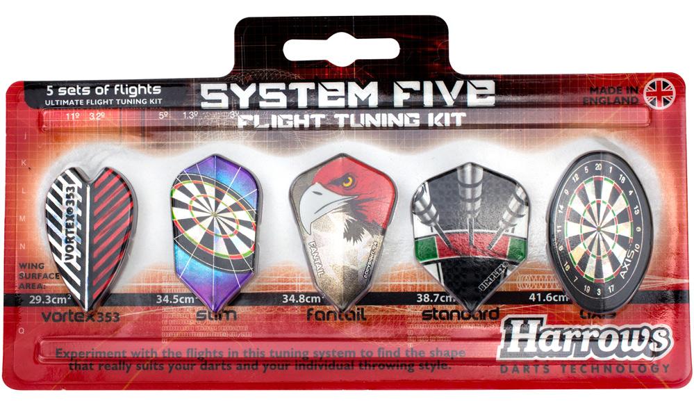 Image of Harrows Flight System Five Flight Tuning Kit (4939)