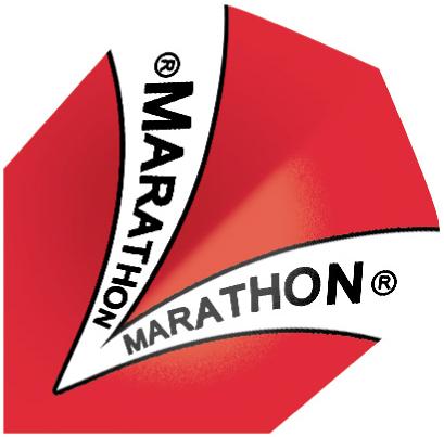 Image of Harrows Flight Marathon 1501 Rød (4935)