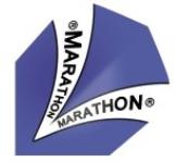 Image of Harrows Flight Marathon 1501 Blå (11794)