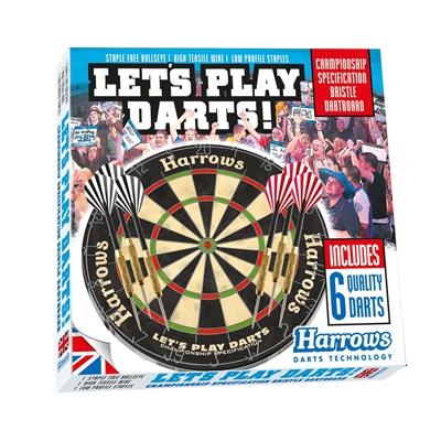 Image of Harrows Dart Sæt - Let´s Play Darts Harrows - Skive & Pile (11031)