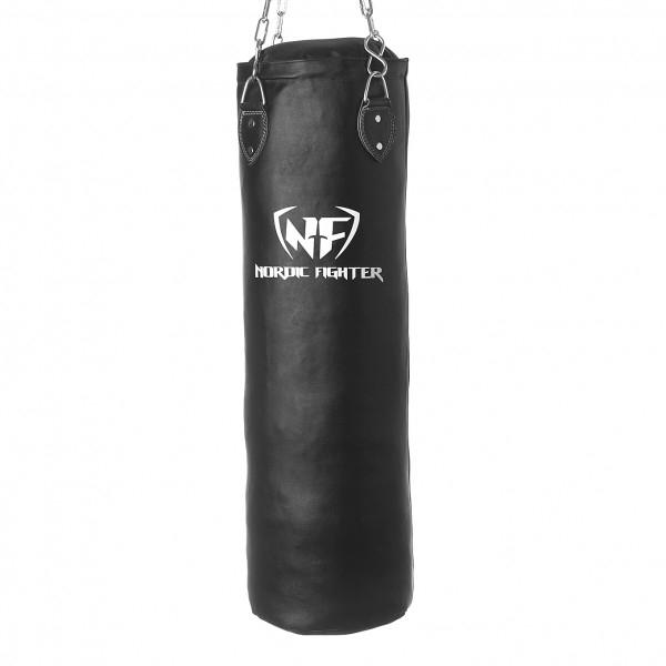 Billede af Nordic Fighter Boxing Bag Sandsæk Ægte Læder 100cm 30kg