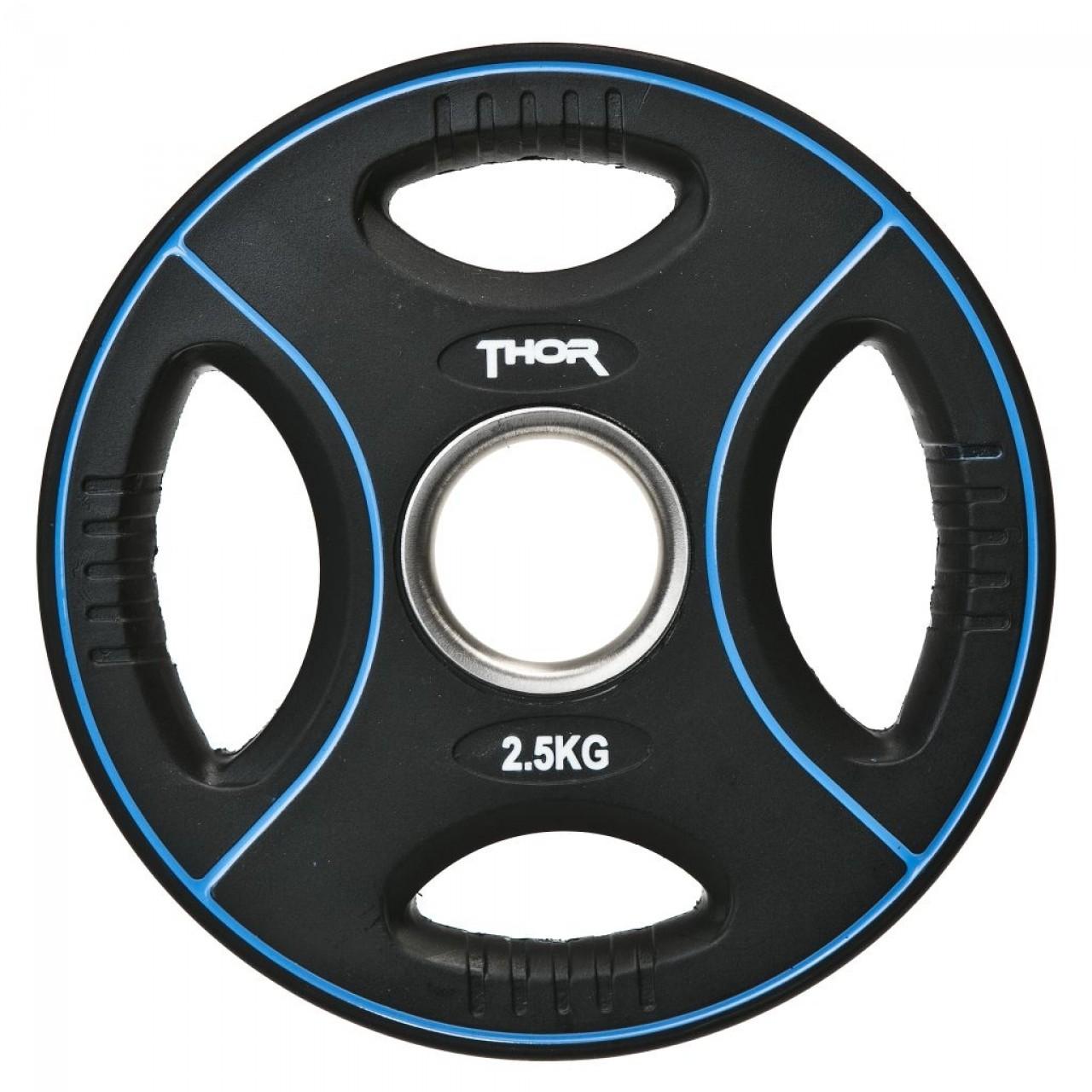 Thor Fitness Vægtskive m. Håndtag 2,5kg (1stk) - Thor Fitness