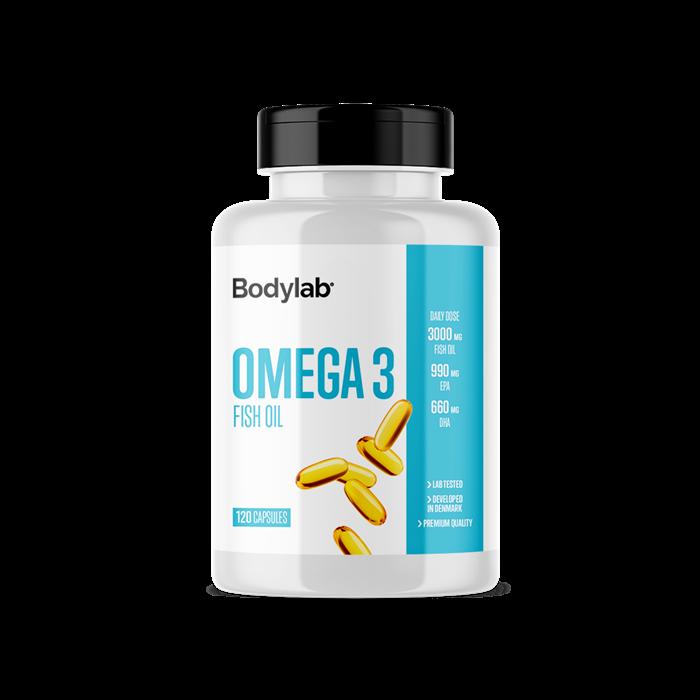 BodyLab Omega 3 Fiskeolie (120 stk)