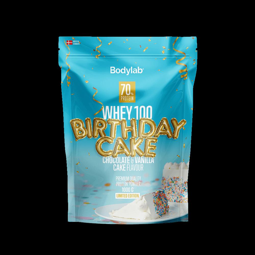 Billede af BodyLab Whey 100 Proteinpulver Birthday Cake