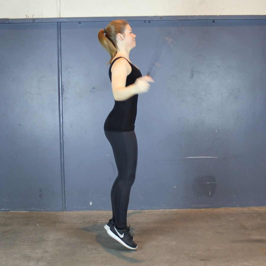 Træning med sjippetov