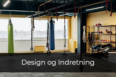 Design og indretning af fitnesscenter