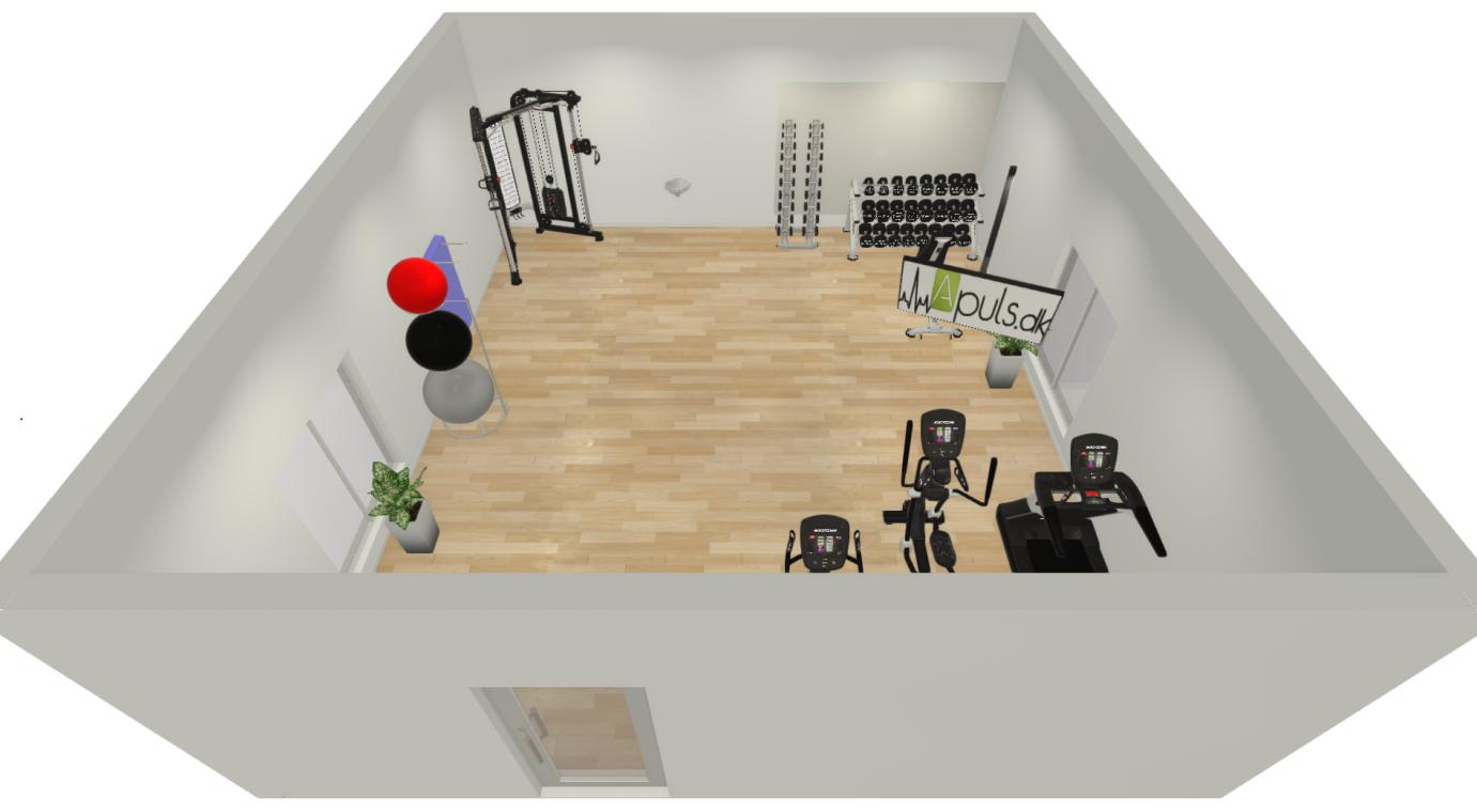 Fitnessrum 20 - 40 m2