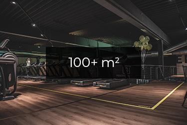 Motionsrum +100
