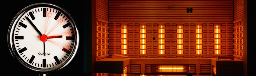 infrarød sauna hvor ofte